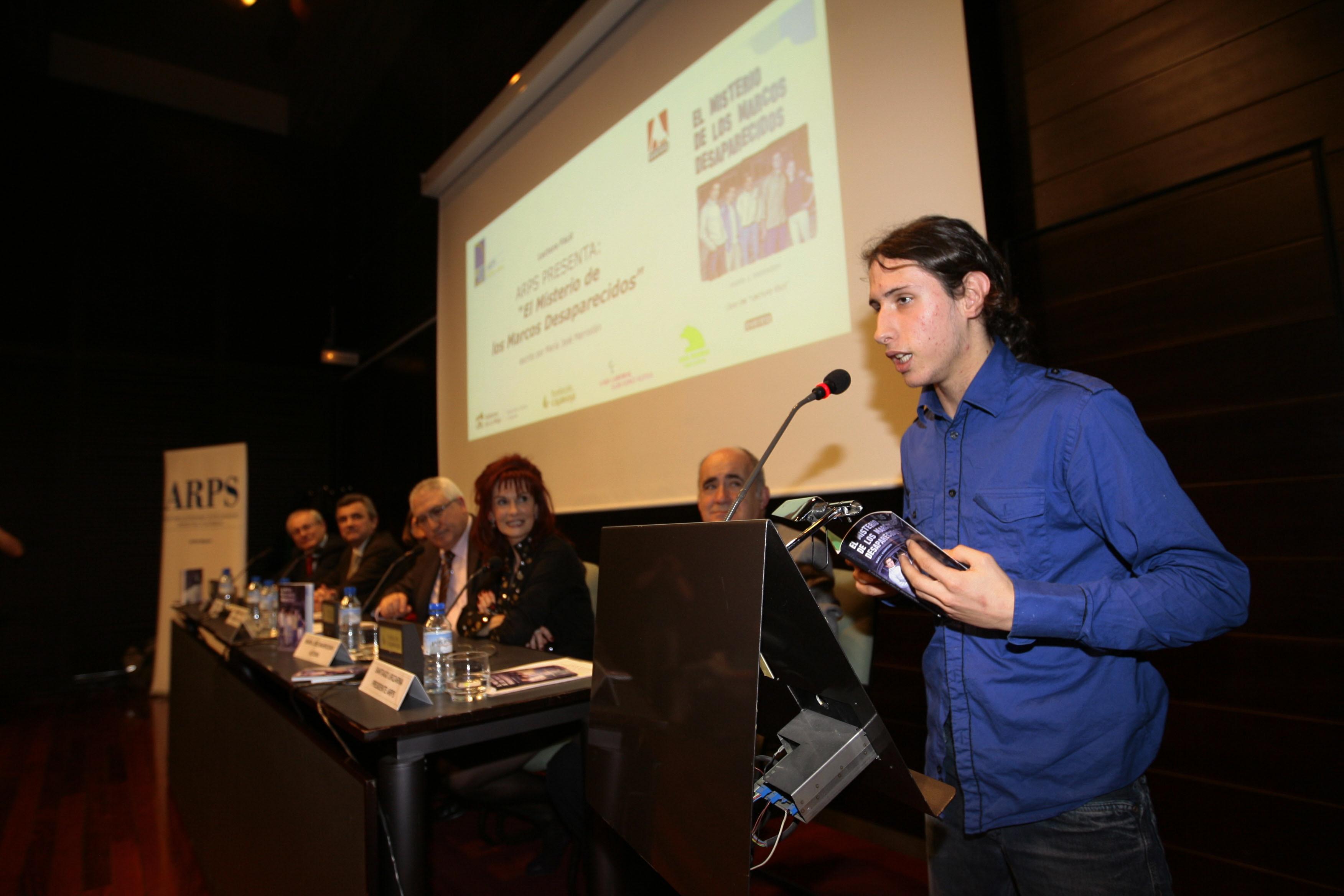 Presentación del libro en Logroño