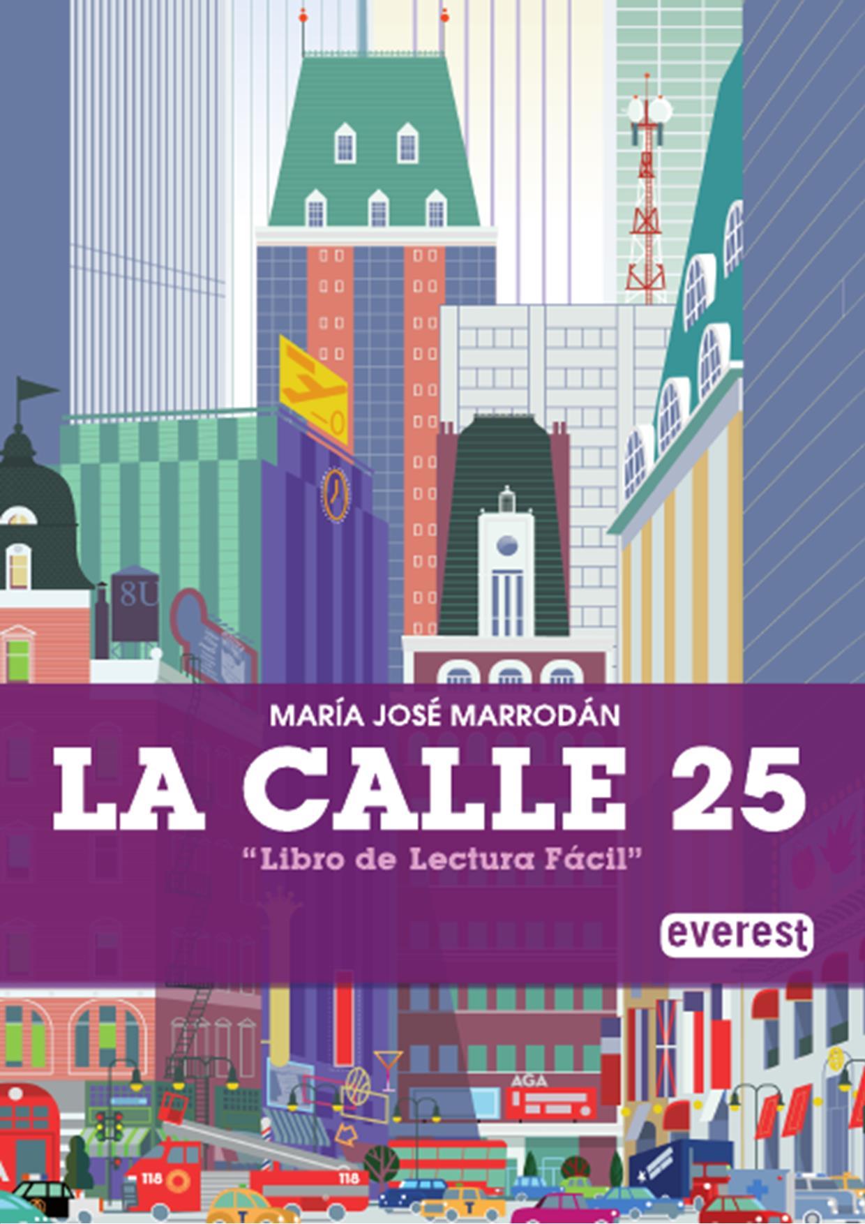 Portada libro de lectura fácil - La Calle 25